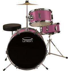 Union 3-pc. Junior Drum Set, Pink
