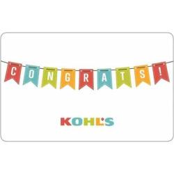 Congrats! Gift Card, Multicolor