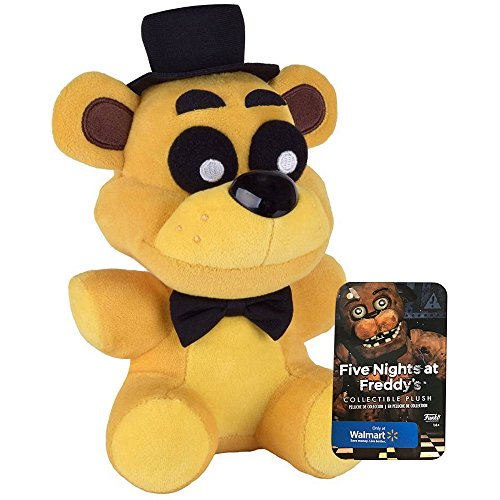 Official Funko Five Nights At Freddy's 6″ Limited Edition Golden Freddy Bear (Walmart) Exclusive FNAF Plush Doll Toy