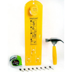 Under The Roof Picture Hanging Tool Kit, Multicolor