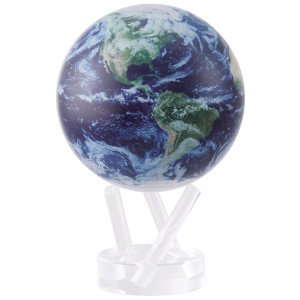 6″ Satellite View with Cloud Cover MOVA Globe