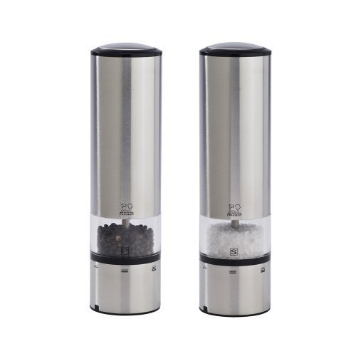 Peugeot Elis Sense u'Select Electric Salt & Pepper Mill Set – Stainless