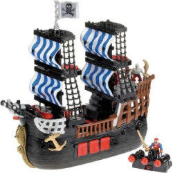 Imaginext Pirate Ship by Fisher-Price, Multicolor