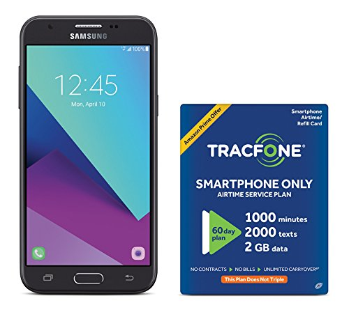 tracfone samsung galaxy j3 luna pro 4g lte prepaid smartphone with amazon - Allshopathome-Best Price Comparison Website,Compare Prices & Save