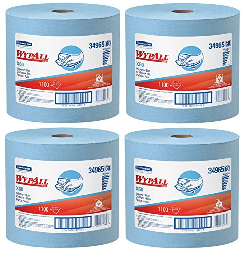 wypall 34965 x60 wipers jumbo roll 12 12 x 13 25 blue 1100 sheets per - Allshopathome-Best Price Comparison Website,Compare Prices & Save