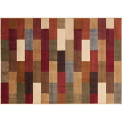 KHL Rugs Brick Rug, Multicolor