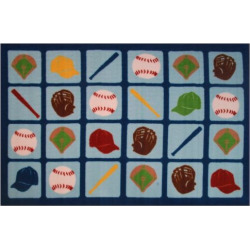 fun rugs fun time up to bat rug 33 x 410 multicolor - Allshopathome-Best Price Comparison Website,Compare Prices & Save