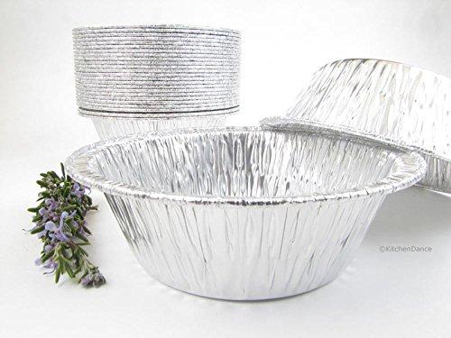 Disposable Aluminum 5 3/4 Extra Deep Meat/Pot Pie Pan #2400 (1,000)