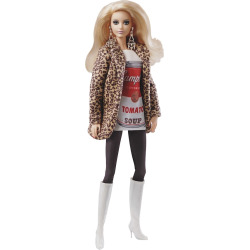 barbie andy warhol campbells soup barbie doll multicolor - Allshopathome-Best Price Comparison Website,Compare Prices & Save