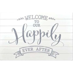 sheffield home happily ever after wedding table decor white - Allshopathome-Best Price Comparison Website,Compare Prices & Save