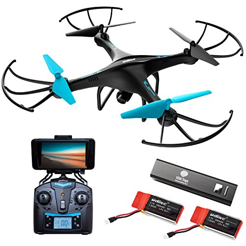 Force1 Drone with Camera Live Video – Cool WiFi FPV Quadcopter & Smartphone Remote Control – RC Robot Hover Toys for Adults, Teens, Kids, Boys & Girls w/ Extra Battery for Indoor and Outdoor Games