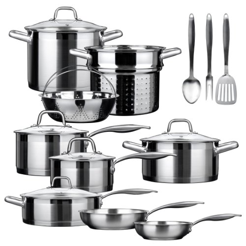 Secura SSIB-17 Induction Cookware Set