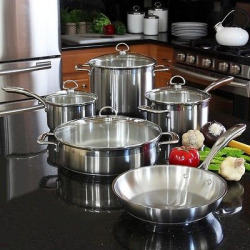 chantal induction 9 piece 21 steel cookware set - Allshopathome-Best Price Comparison Website,Compare Prices & Save