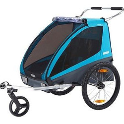 Thule Coaster XT Bike Trailer, Deep Ocean