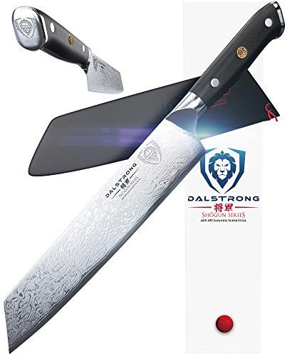 DALSTRONG Kiritsuke Chef Knife – Shogun Series – VG10V – 8.5″ (216 mm) – Sheath