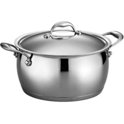 Tramontina Gourmet 6-qt. Domus Tri-Ply Stainless Steel Sauce Pot, Multicolor