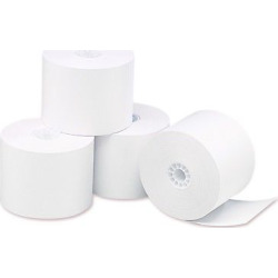 Universal Single-Ply Thermal Paper Rolls, 3 1/8×230′, White, 50/Carton (35763)