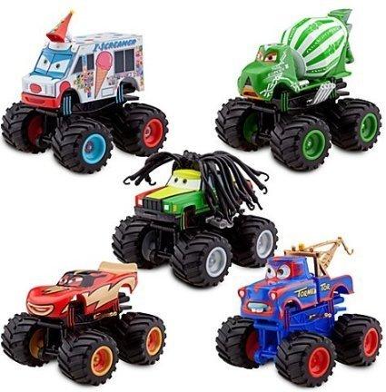 Disney Deluxe Monster Truck Mater Figure Set -. 5-Pc by Disney [parallel import goods]