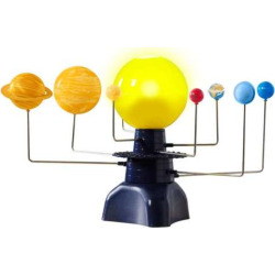 Educational Insights GeoSafari Motorized Solar System, Multicolor