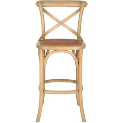 Sonoma 13.4 Barstool Hardwood – Safavieh, Brown