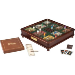 Clue Luxury Edition Board Game by Hasbro, Multicolor