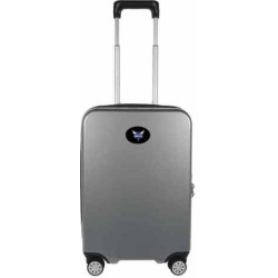 Charlotte Hornets 22-Inch Hardside Wheeled Carry-On with Charging Port, Grey