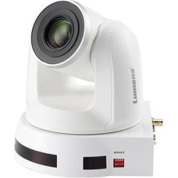 Lumens 4K UHD 12x Optical Zoom PTZ Video Camera (White) VC-A70HW