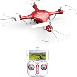 Polaroid 2000 Camera Drone, Red