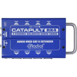 Radial Engineering Catapult TX4M 4-Channel for Microphone Signal Routin R800 8023