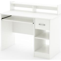 South Shore Axess Neutral Desk, White