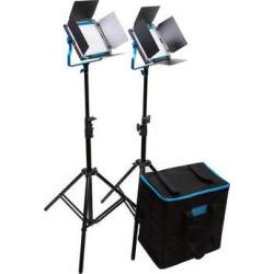 Dracast Silver Series LED500 Daylight 2-Light Kit with Soft DRSP-LK-2X500-D-S