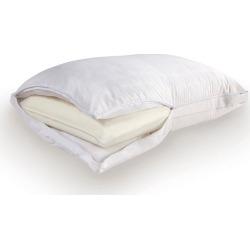 Sealy Comfort Memory Foam Core Pillow, White
