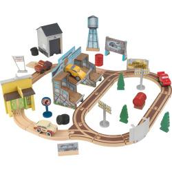 Disney / Pixar Cars 3 50 Piece Thomasville Track Set By KidKraft, Multicolor