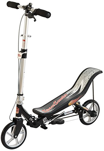 SpaceScooter Ride On, Black