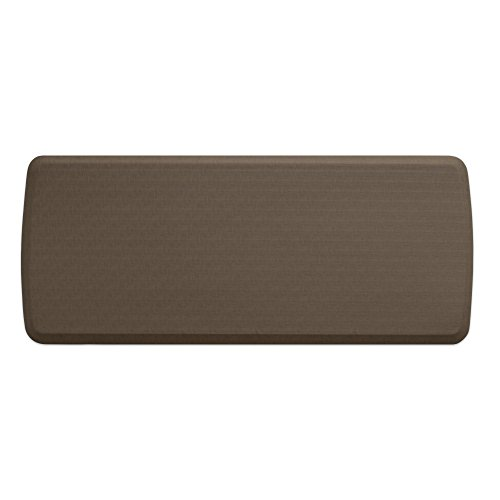 """GelPro Elite Premier Anti-Fatigue Kitchen Comfort Floor Mat, 20×48"""", Linen Sandalwood Stain Resistant Surface with Therapeutic Gel and Energy-return Foam for Health and Wellness"""