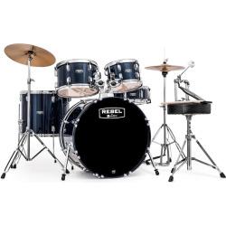Mapex Rebel Drum Set, Blue