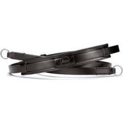 Leica Vintage Leather Neck Strap (Black) 19520