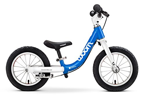 "WOOM BIKES USA woom 1 Balance Bike 12"", Ages 18 Months to 3.5 Years, Blue"
