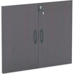Alera Valencia Series Cabinet Door Kit For All Bookcases, 31 1/4 Wide, Mahogany (Brown)