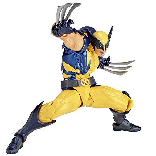 Figure complex AMAZING YAMAGUCHI Wolverine Approximately 155 mm ABS & PVC painted action figure Revoltech