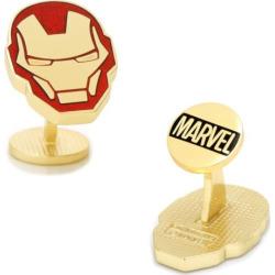 Marvel Iron Man Helmet Cuff Links, Gold