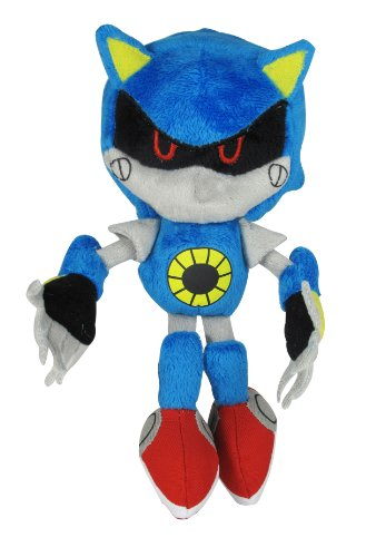 Jazwares Sonic the Hedgehog ~ 7.5″ Classic Metal Sonic Plush
