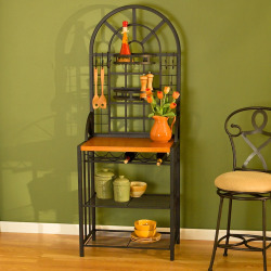 Dome Bakers Rack, Black