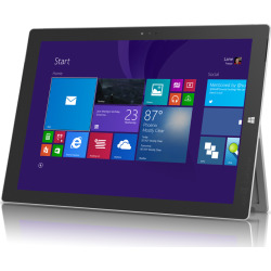 Microsoft Surface Pro 3 (Windows 10.1) Intel Core i7 12 Tablet w/ 512GB – Silver (Refurbished)