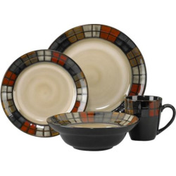Pfaltzgraff Everyday Calico 16-pc. Dinnerware Set, Multicolor