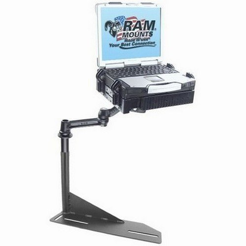 No-Drill(TM) Laptop Mount for the Chevrolet Camaro, Caprice, Ford Crown Victoria Police Interceptor & Lincoln Town Car