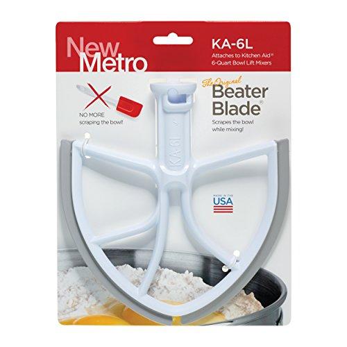 Original BeaterBlade for KitchenAid 6-Quart Bowl Lift Mixer, KA-6L, White, Made in USA