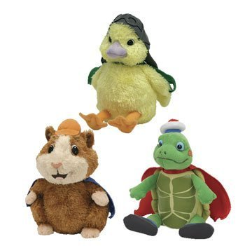 Ty Wonderpets Trio Kit (Turtle Tuck, Linny & Ming Ming)