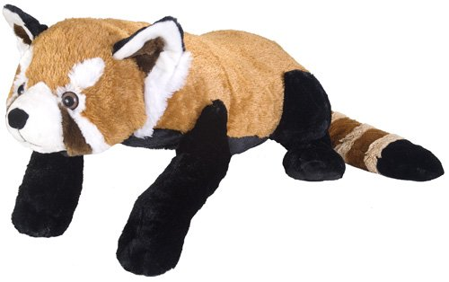 Wild Republic Jumbo Red Panda Plush, Giant Stuffed Animal, Plush Toy, Gifts for Kids, 30 Inches