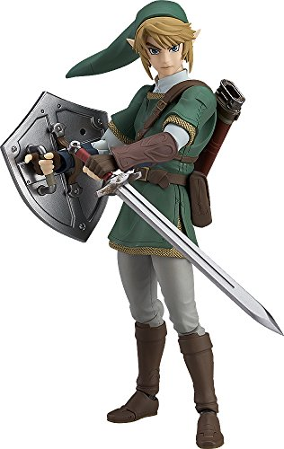 Good Smile The Legend of Zelda Twilight Princess Link (Deluxe Version) Figma Action Figure